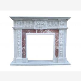 Klassizismus Empire Kaminfassade Marmor Kamin Shop Kaminverkleidung Kamine Stilkamine