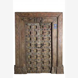 Massive indische Antik Tür 130 alt