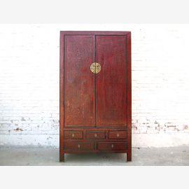 Hochzeitsschrank China Schrank antik ca. 80 Jahre