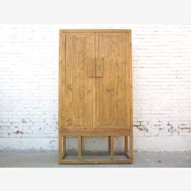 Hochzeitsschrank schlichter China Schrank antikholz