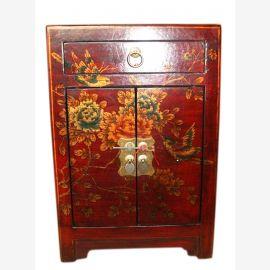 China Lederlook Kommode Nachtschrank Schubladen & Türen