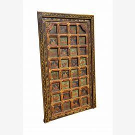 Fein gearbeitete Tür mit Rahmen aus Tibet