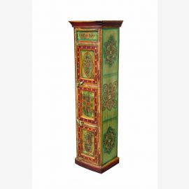 Almirah China tall cabinet wardrobe armoire floral motif paintings D ED-11-61-02
