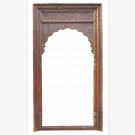 Indien Tür Tor Rahmen Dekor Holz Bogen zum Inneneinbau