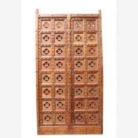 Indien Tür Portal carved beidseitig geschnitzt