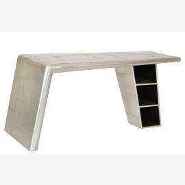 Bürotisch Schreibtisch Tisch airrange möbel Aluminium aus airplane recycling