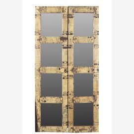 India Rajasthan 1940 mannshoher Spiegel in Antiker Tür