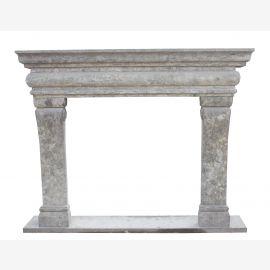 Kamin AvignonMarmor echt antik Grau Antik