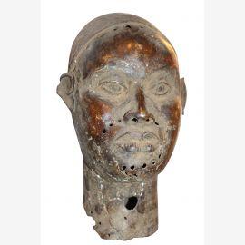 Afrika Büse Bronze antik ca.80 Jahre alt