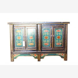 China Sideboard Florale Bemalung shabby vintage