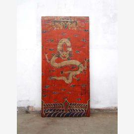 Original Tibt Eingangstür antik ca. 70-80 Jahre alt