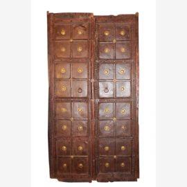 Originale Türblätter Indien antik ca. 80-100 Jahre alt