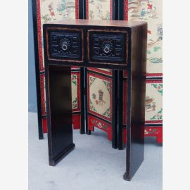 Antike China Konsole in klassicher Formgebung