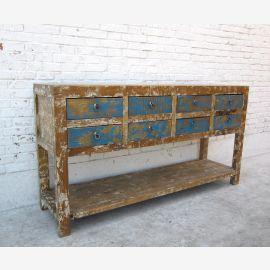 Asia Spa Anrichte Sideboard im Vintage Shabby Finish