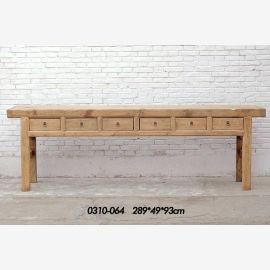 Sideboard aus China aus erstklassigem Holz mit klarer Linenführung