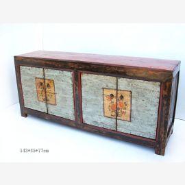 Sideboard aus hochwertigem Holz gefertigt aus China mit raffiniertem Farbkonzept