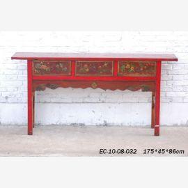 Sideboard aus China massiv mit feinen Schnitzereien