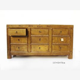 Naturholzsideboard aus China in warmer Holzoptik