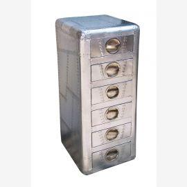 Kommode Schubladen Turm airrange möbel Aluminium