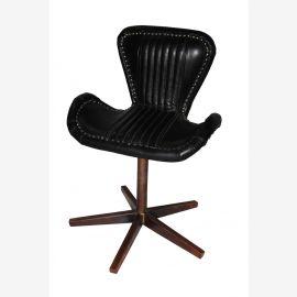 NEU aircraft möbel Kupfer Leder revolving chair Drehstuhl