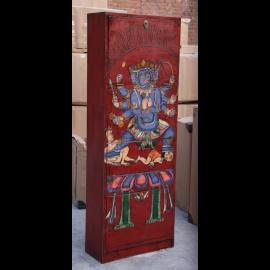 Tibet hoher Schuhschrank lokale Motive 4 große Fächer nach Maß von Luxury-Park