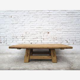 China Shanxi Traditioneller flacher Couchtisch Tisch Ulme massiv D SD.D.15.