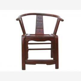 China Beijing 1910 Holz Stuhl Sessel herrschaftlich massive Ulme