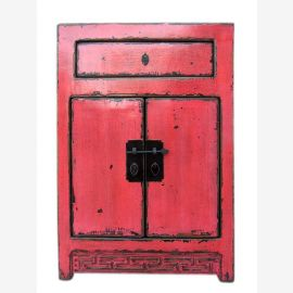 China Shanxi um 1890 kleine Anrichte Garderobentisch hellrote Ulme.