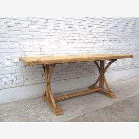 China Shanxi 1860 Esstisch Tisch rustikales helles Ulmenholz
