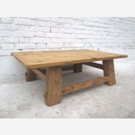 China Kolonialzeit klassischer rustikaler Tisch aus massiver dunkler Pinie
