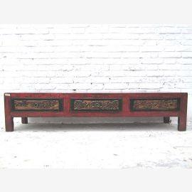 China Shanxi Ulme Lowboard fuer TV Flachbildschirm breite Schubladen two tone optic von Luxury-Park