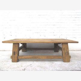Asien Tisch rustikal Antik 130 Jahre helles Pinienholz