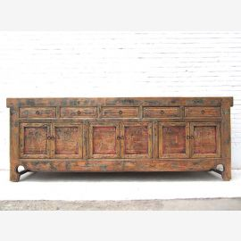 China Shanxi mächtiges Sideboard 2,5 lang antikholz Ulme