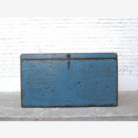 Truhe oder spezial Katzen Toilette in blauer Truhe China shabby chic drei Innenräume