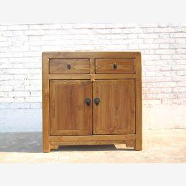Katzen Toilette Schubladen Kommode Landhaus Stil Naturholz Optik China von Luxury Park