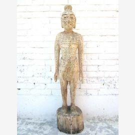 China 1940 Akupunktur Unterricht Modell Skulptur Körper Mann Statue Heilkunde von Luxury-Park