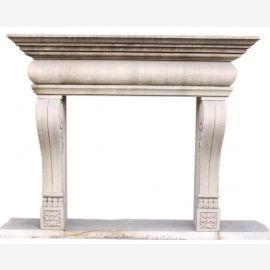 "Kamin Marmor ""nach Maß"" Modell Turin-14 antik finish"