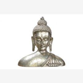XXL Große Buddha Büste schwere Auszuschließenden überhartholzkern