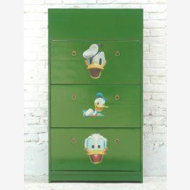 Kinderzimmer Schrank Pappel Motiv Donald Duck