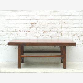 Traditionell flacher Tisch Pinie Tibet